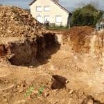 Terrassement pavillon en terrain rocheux à Talant