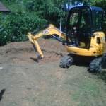 creuser une fosse pour une piscine vers Dijon