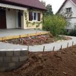 Rampe handicapés - Terrasse